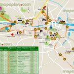 Dublin Maps   Top Tourist Attractions   Free, Printable City Street   Printable Map Of Dublin