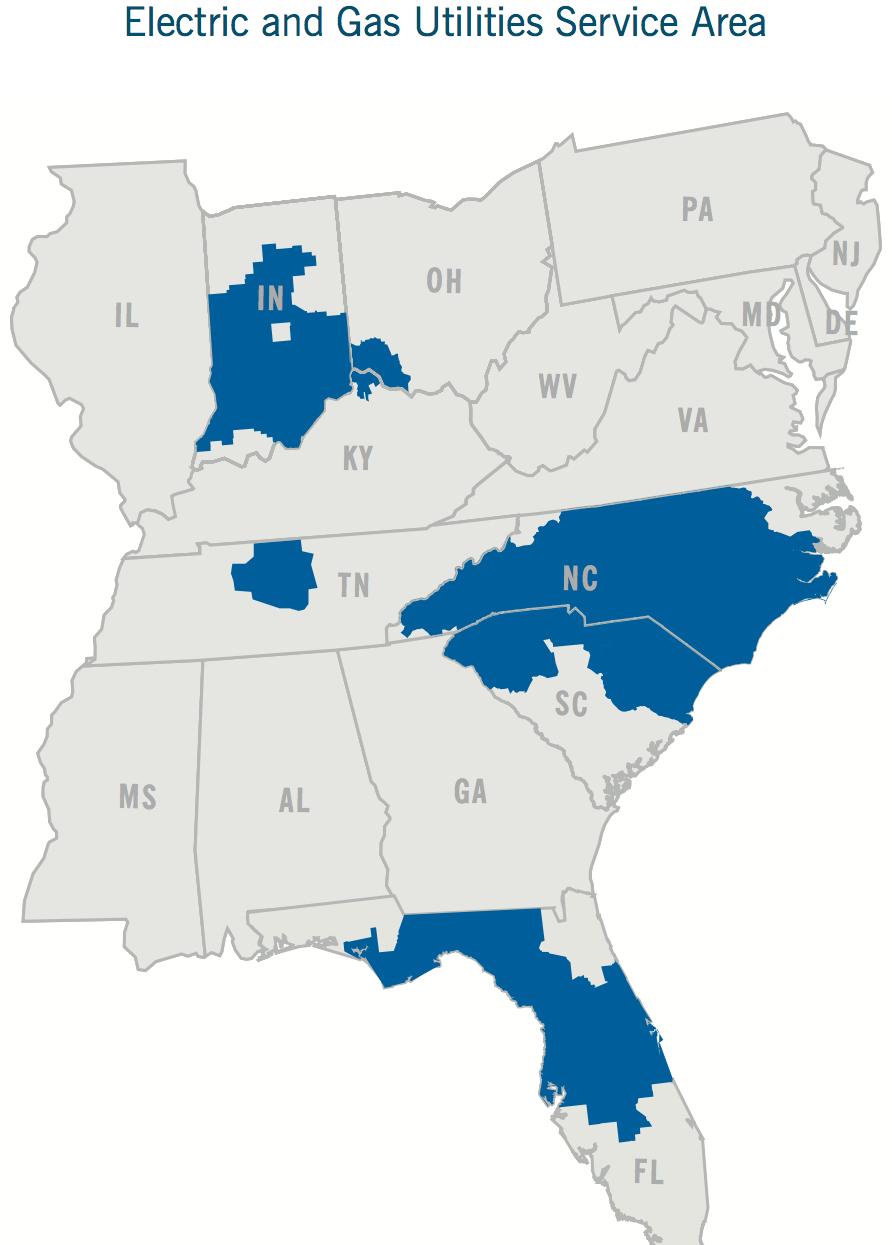 Duke Energy: Smarter And Brighter - Duke Energy Corporation (Nyse - Duke Energy Florida Coverage Map