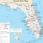 ♥ Florida State Map   A Large Detailed Map Of Florida State Usa   Smyrna Beach Florida Map