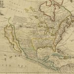 Early Map Of North America Depicting California As An Island   Early California Maps