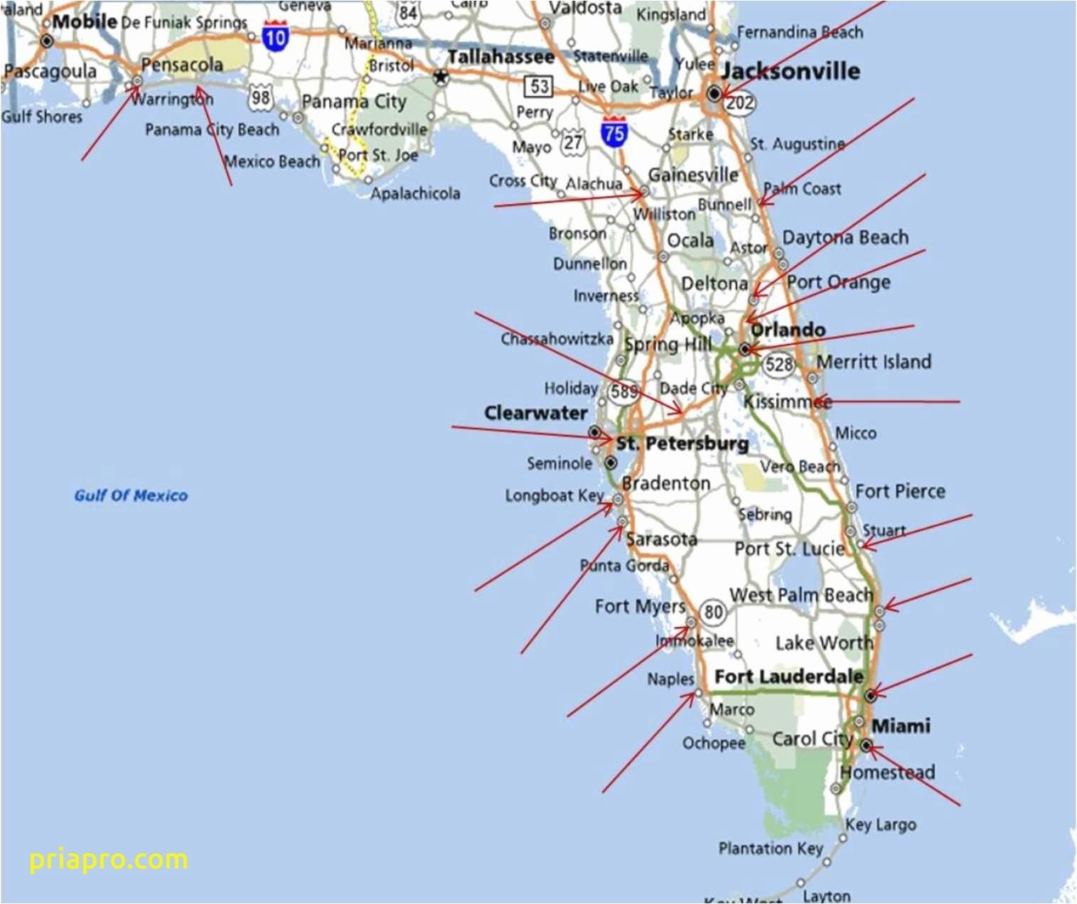 East Coast Beaches Map Inspirational Florida Beach Map Florida River - West Florida Beaches Map