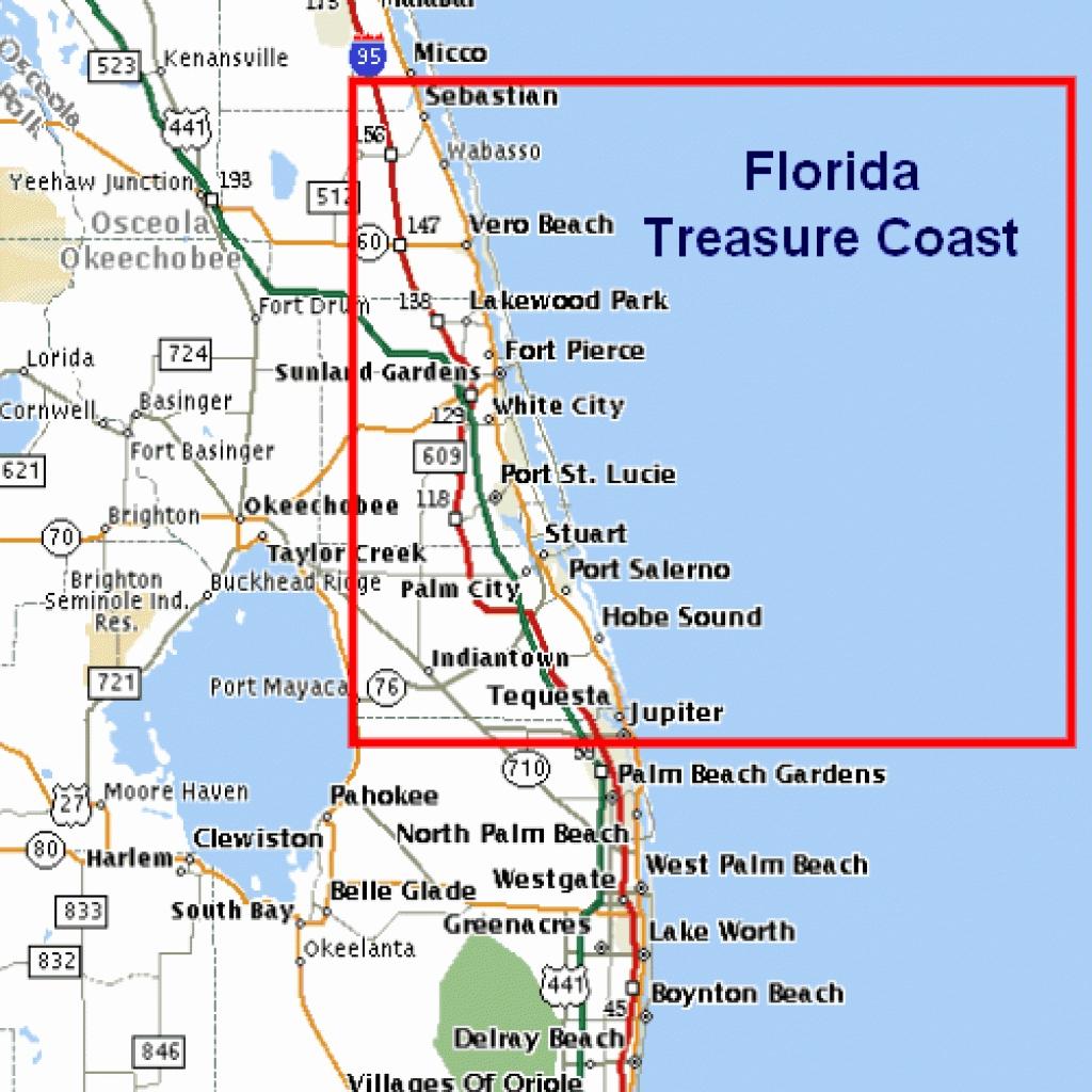 East Coast Beaches Map Lovely Florida East Coast Beaches Map Palm - Map Of Florida East Coast