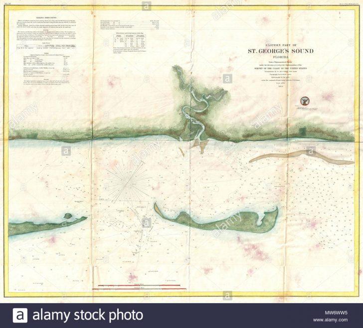 St George Island Florida Map