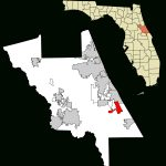 Edgewater, Volusia County, Florida   Wikipedia   Edgewater Florida Map