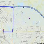 Editable, Custom Driving Directions From 140 Da Vinci Drive   North Port Florida Street Map
