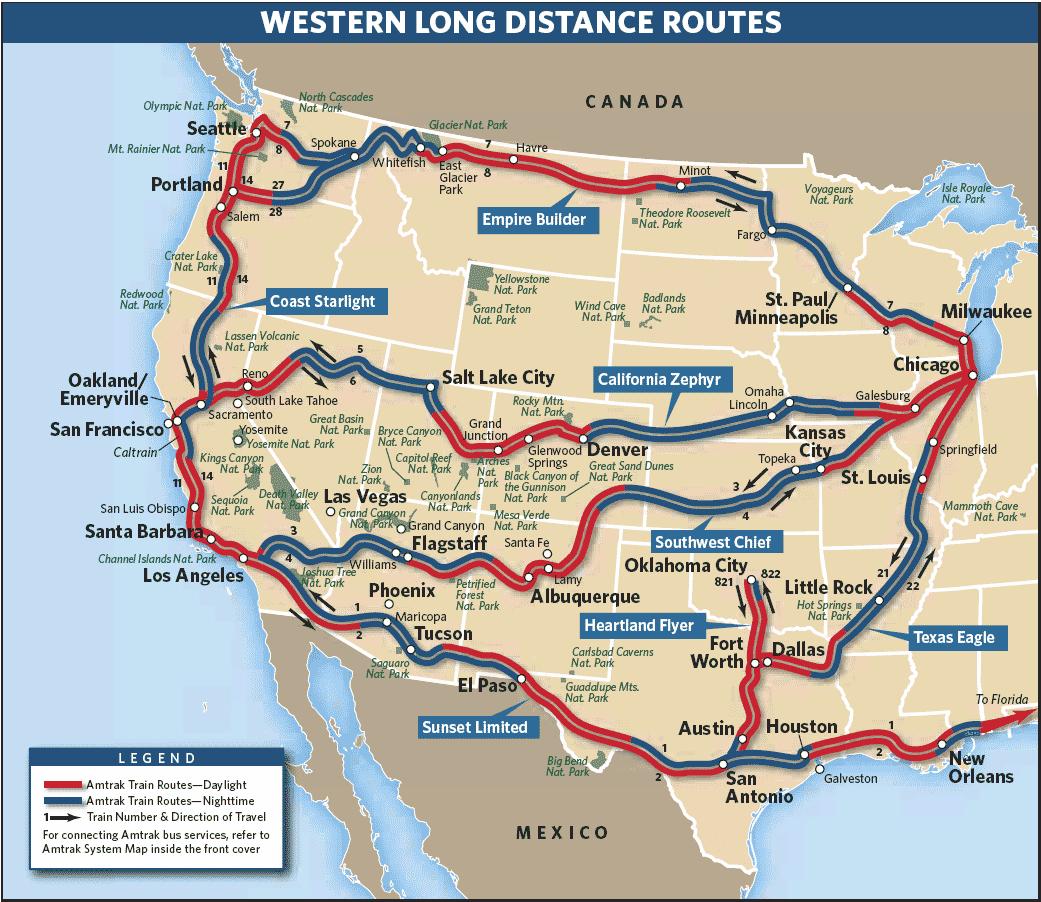 Eeedcabbbfe Map California California Zephyr Route Map - Klipy - California Zephyr Map