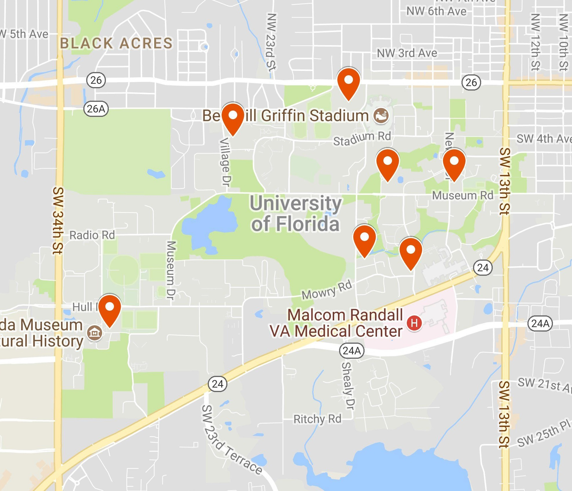 Electric Vehicles & Infrastructure » Office Of Sustainability - Electric Car Charging Stations Map Florida