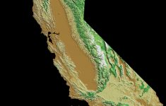 Elevation Map Of California, Usa – Mapsroom | Mapsroom – California Topographic Map