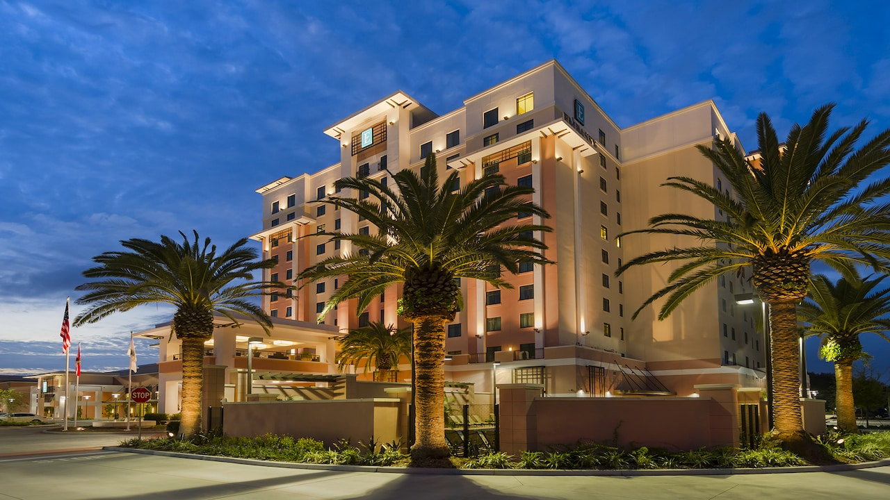 Embassy Suites Orlando — Lake Buena Vista South - Embassy Suites Florida Locations Map