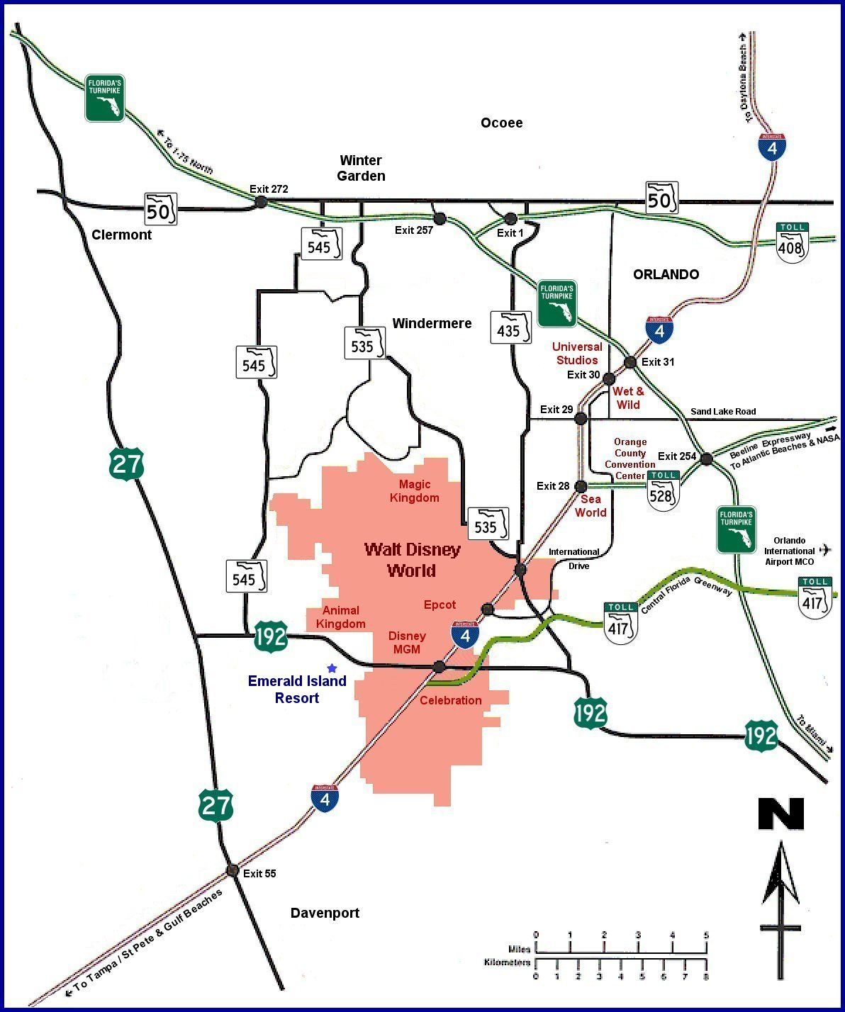 Emerald Island Villa And Townhouse Rental In Kissimmee, Florida - Emerald Island Florida Map