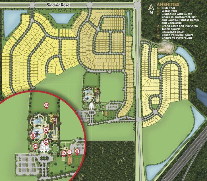 Map Of Reunion Resort Florida