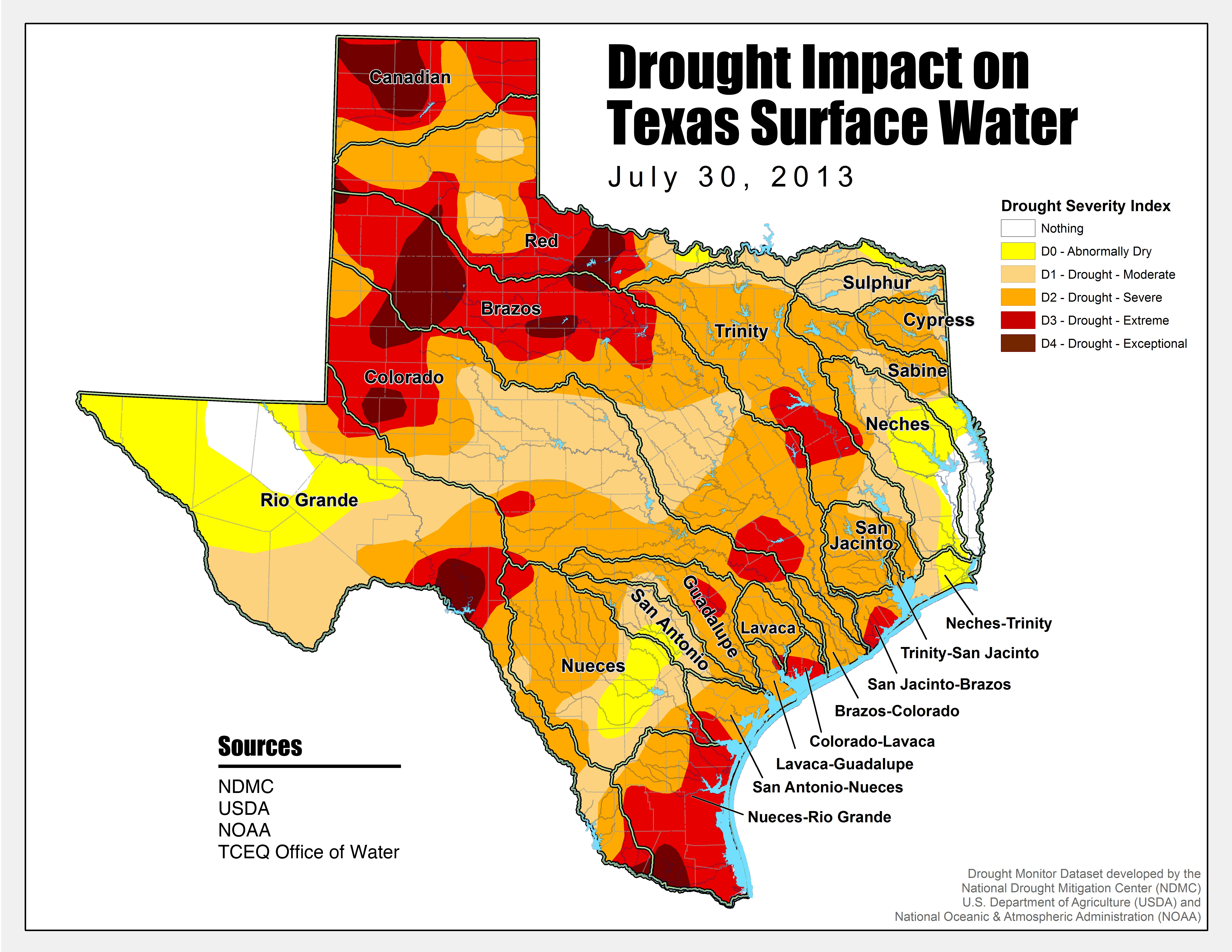 Energy And Water Are Running Out In Texas, But It's Not Too Late - Texas Heat Map