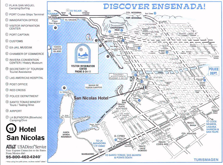 Ensenada Mexico Map Map Of California Springs Map Of Ensenada Baja - Baja California Road Map