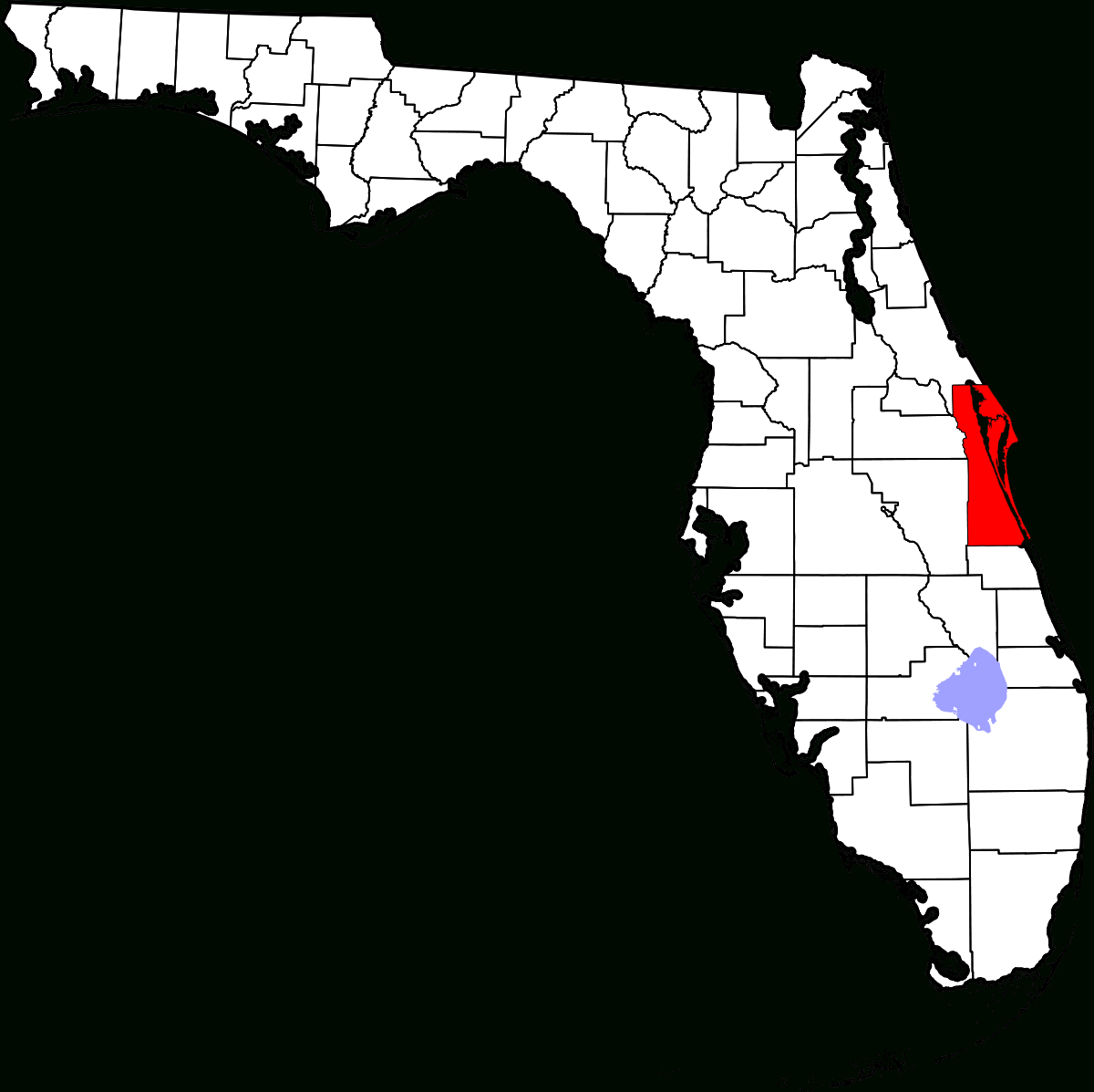 Environmental Issues In Brevard County - Wikipedia - Indian Harbor Beach Florida Map