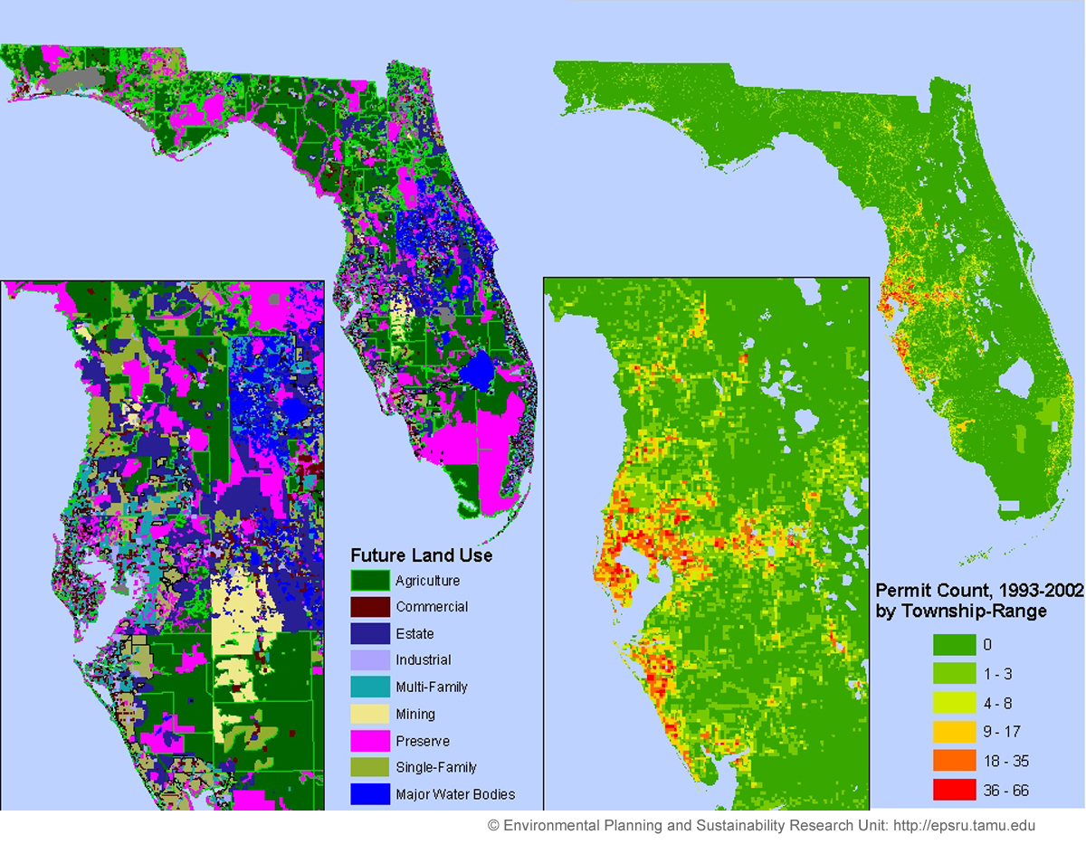 Environmental Research And Sustainability Laboratory - Florida Land Use Map