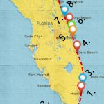Epic Florida Road Trip Guide For March 2019   Itineraries, Tips   Wisconsin To Florida Road Trip Map