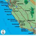 Es Coastal Cali Map Map California California Coastal Highway Map   California Coastal Highway Map