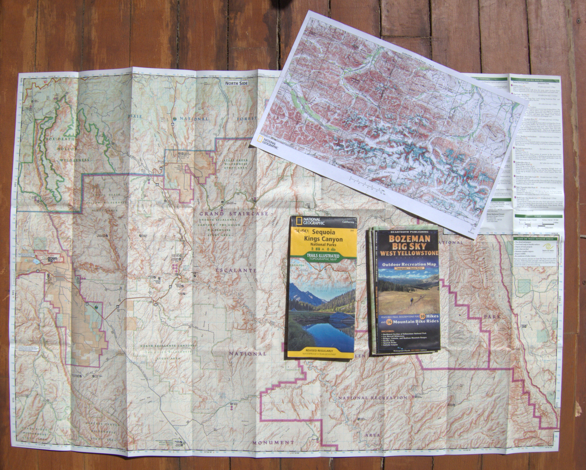 Essential Backpacking Topo Maps: Types, Sources & Formats - Printable Map Paper