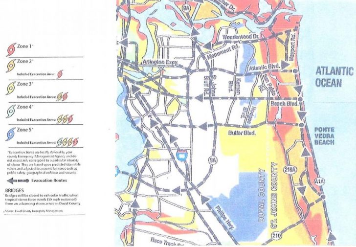 Florida Hurricane Evacuation Map