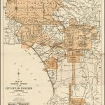 Expanding City Of Los Angeles, Circa 1918 | Maps | Pinterest | City   Old Maps Of Southern California