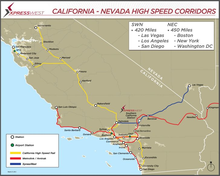 California High Speed Rail Project Map