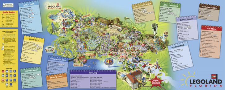 Legoland Map California Pdf