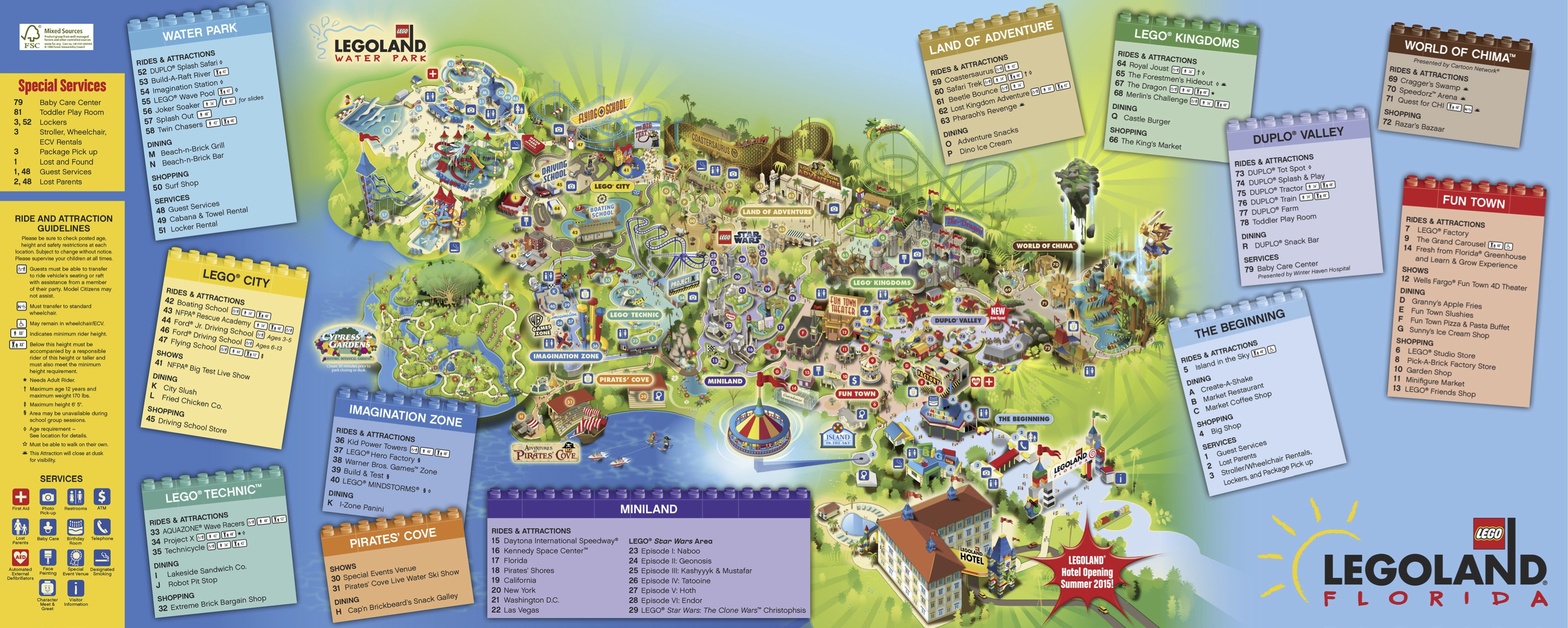 Exploring Places In The City – Listening And Viewing Activity | Y6 - Legoland Map California Pdf