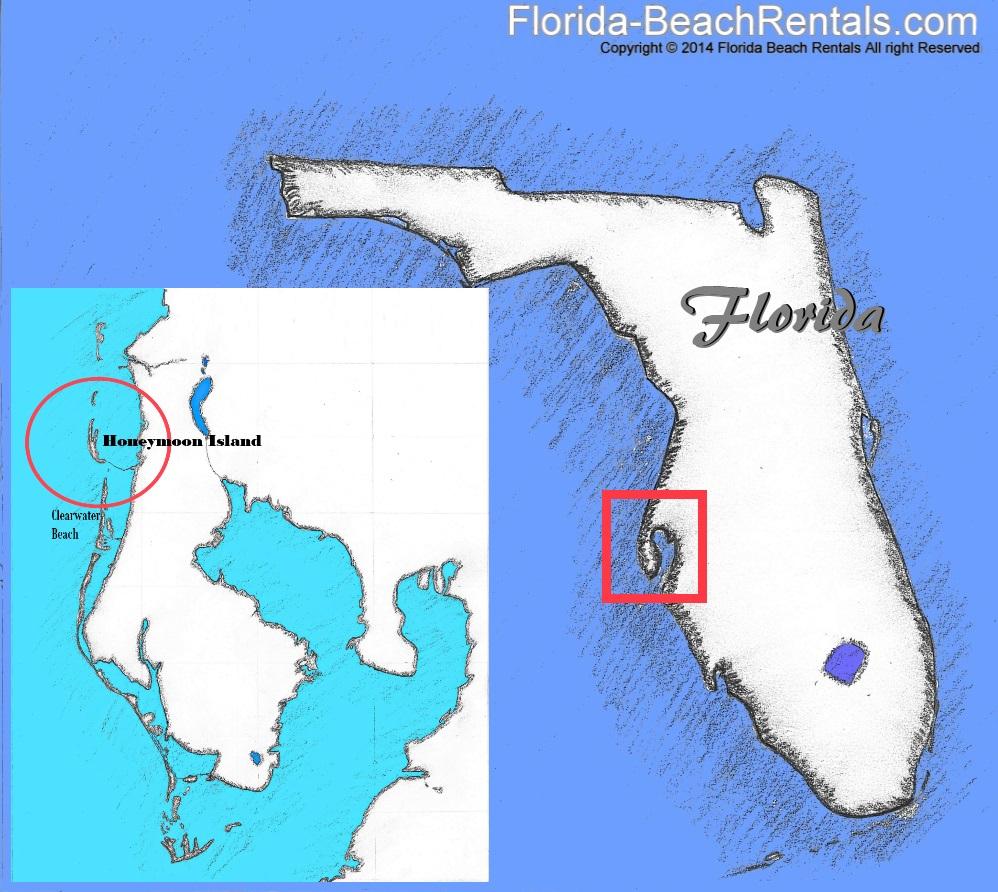 Exploring The Honeymoon Island Nature Trail - Honeymoon Island Florida Map