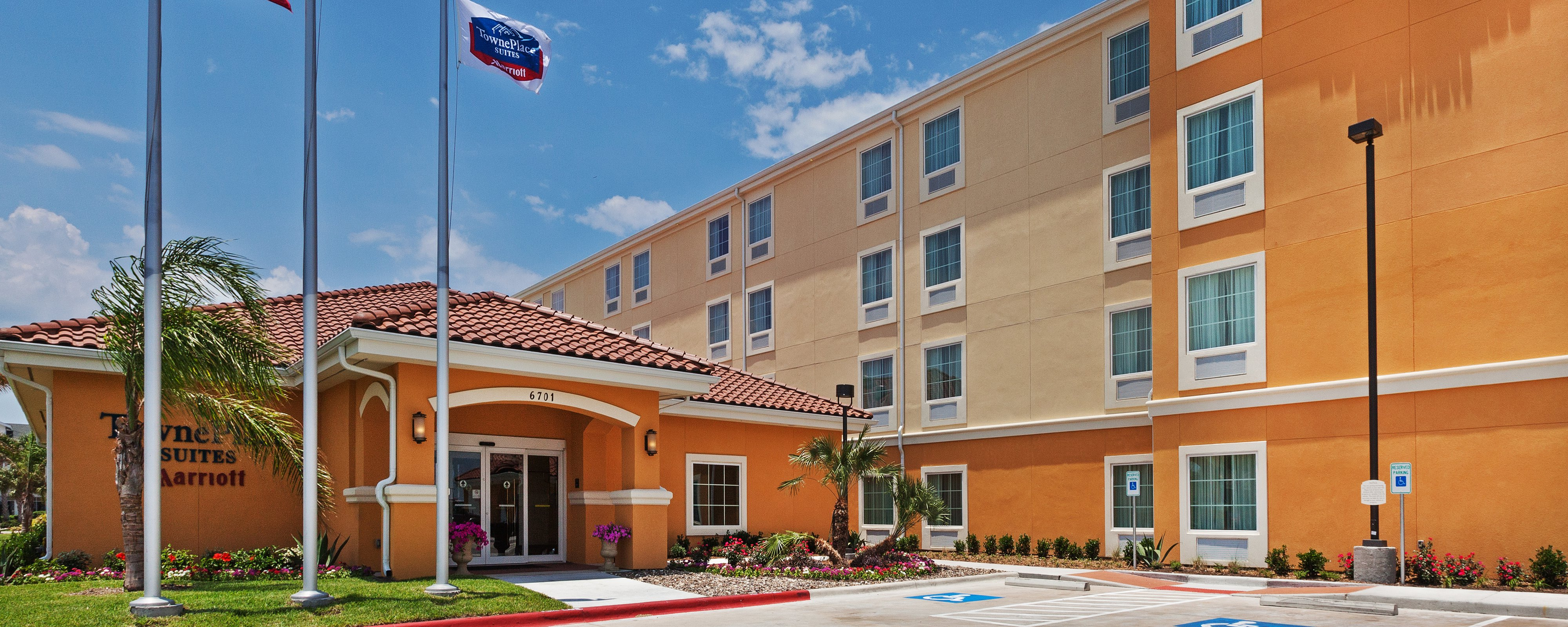 Extended Stay Corpus Christi Hotels | Towneplace Suites Corpus Christi - Map Of Hotels In Corpus Christi Texas