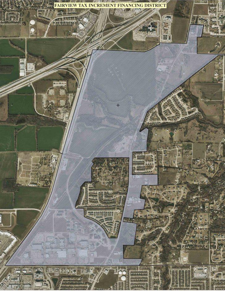 Fairview Texas Map