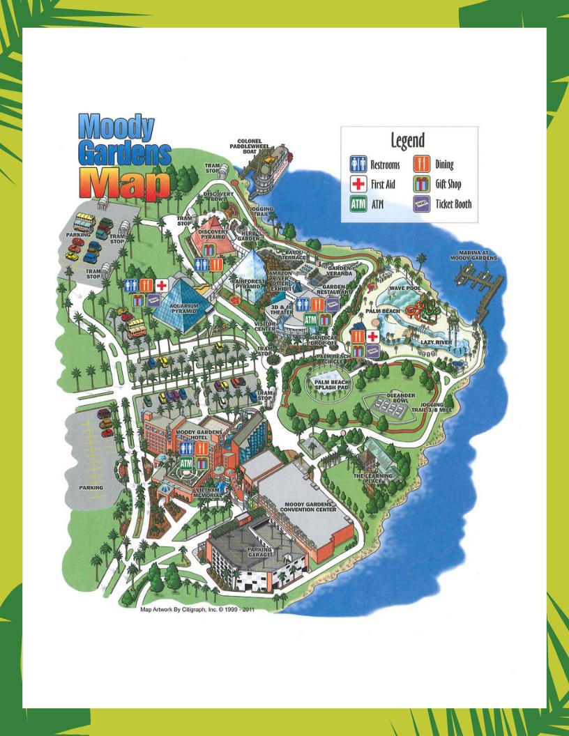 Faqs | Galveston Island Hotel | Moody Gardens Hotel - Map Of Hotels In Galveston Texas