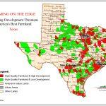 Farming On The Edge   American Farmland Trust   Texas Wheat Production Map