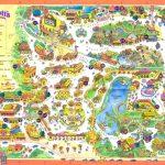 Feacfffbb Free Print Map Knotts Berry Farm California Map   Klipy   Knotts Berry Farm Map California