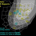 February 2011 Review – Waco Texas Weather Map