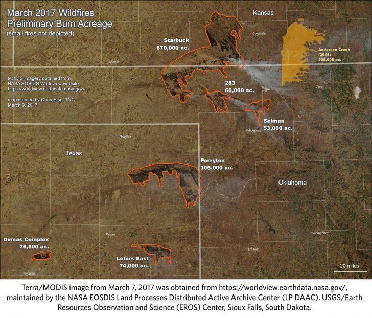 Texas Fire Map