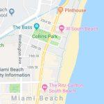 Fecal Bacteria Prompts Swim Advisory At Collins Park In Miami Beach   Florida Beach Bacteria Map 2018