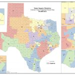 Federal Judges Propose Maps For Texas Legislative Races | The Texas   Texas State House District Map