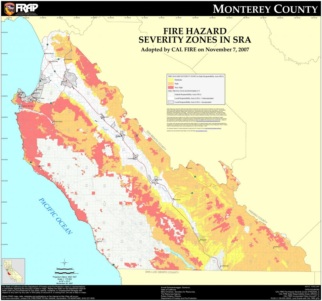 Fhszs Map California River Map Forest Fires In California Map - California Department Of Forestry And Fire Protection Map