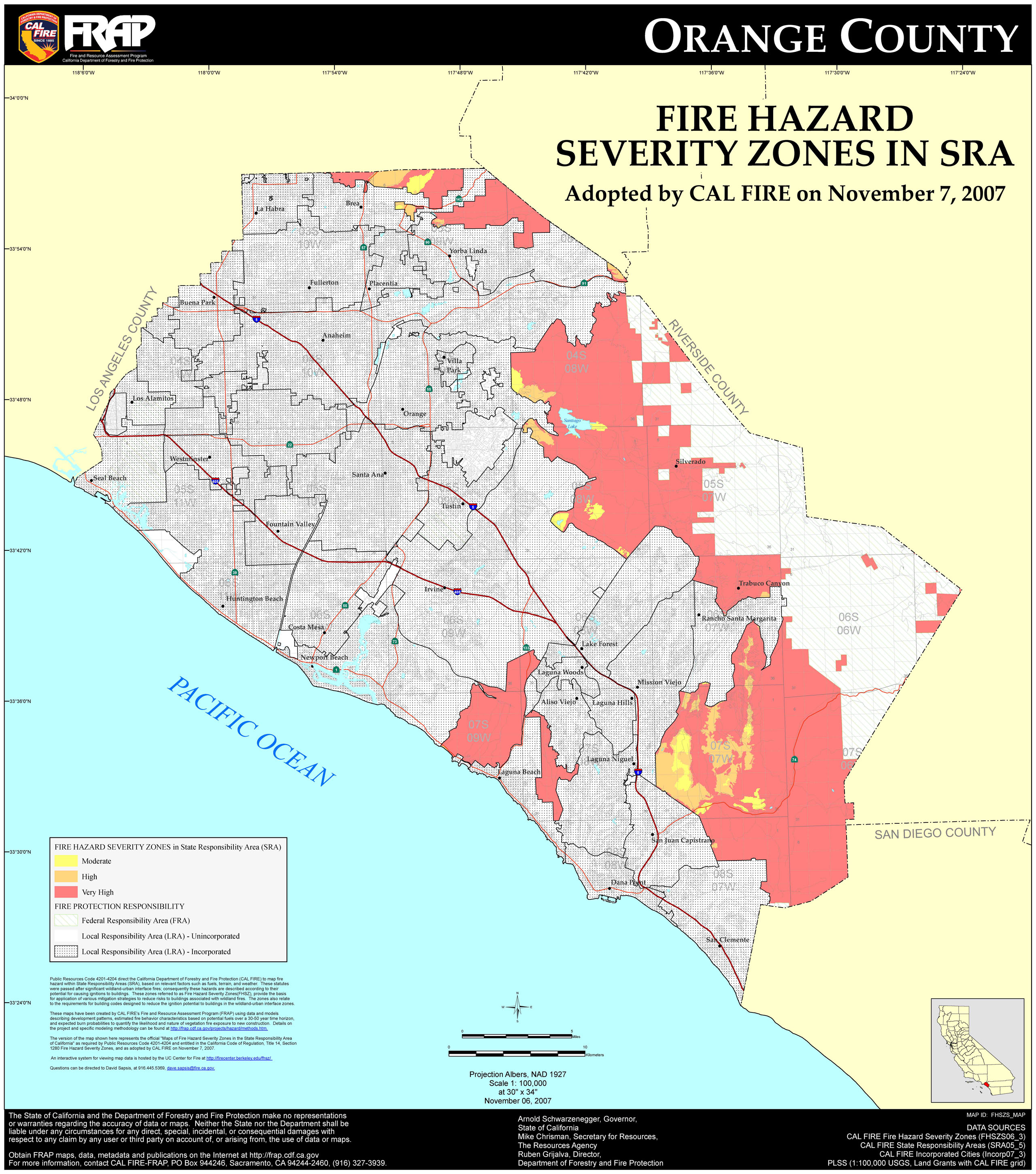 Fhszs Map Maps Of California Map Of Laguna Beach California - Klipy - Laguna Beach California Map