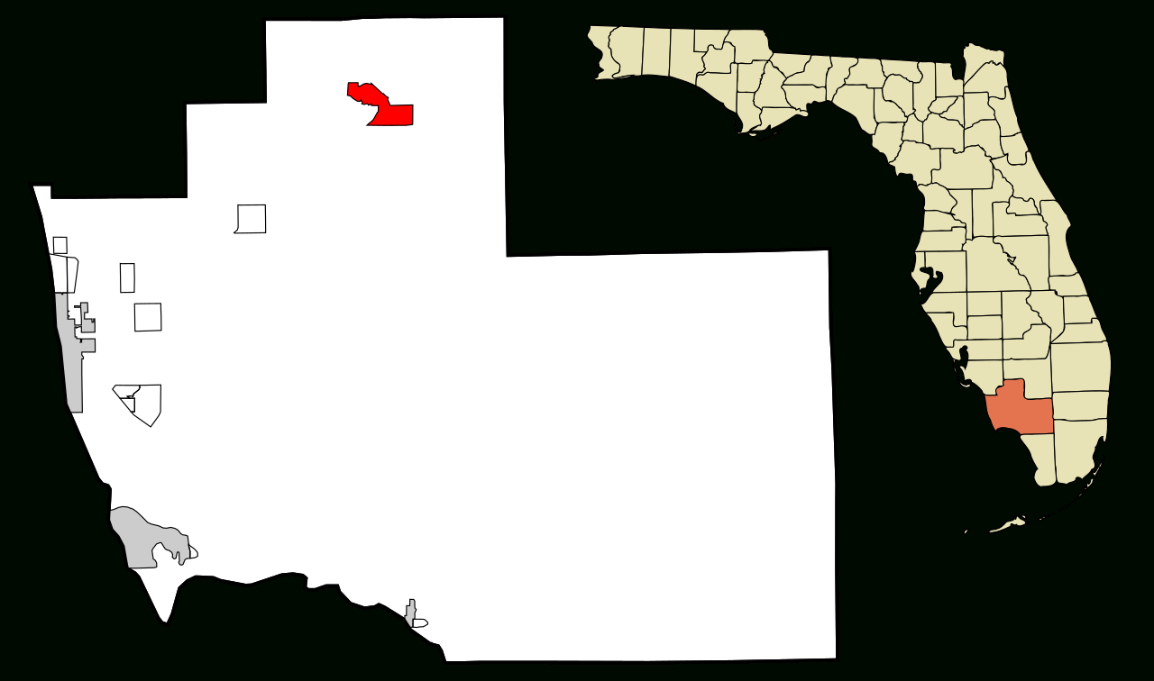 Fichier:collier County Florida Incorporated And Unincorporated Areas - Immokalee Florida Map