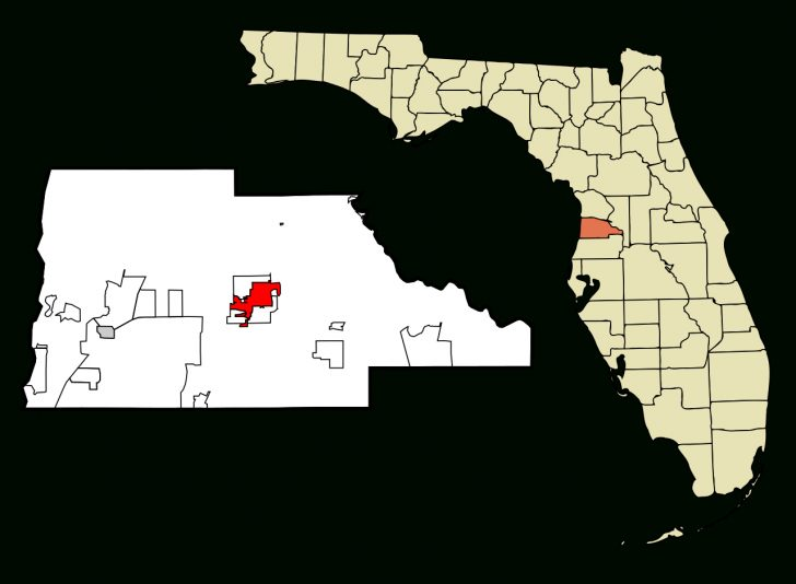 Hernando Florida Map