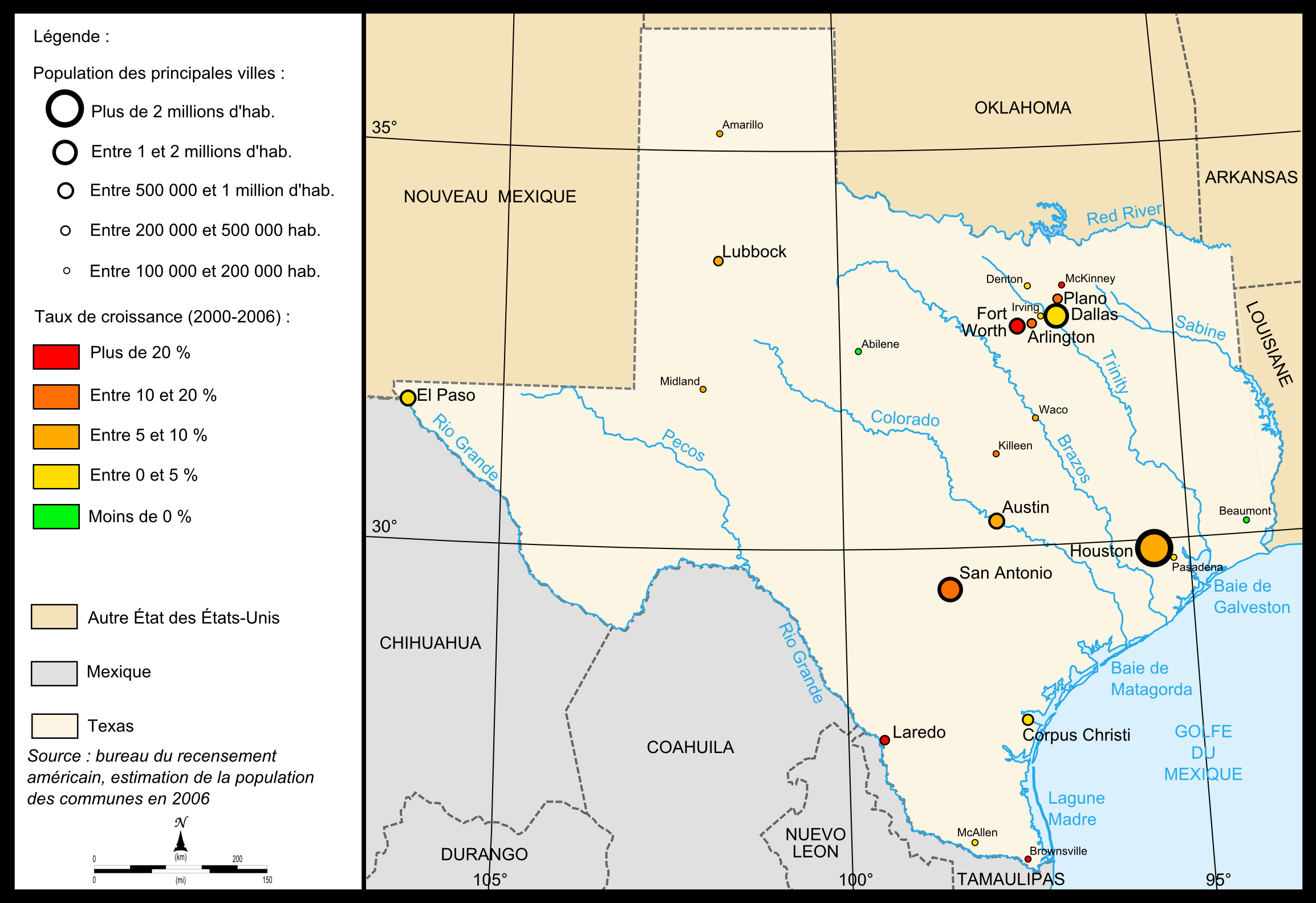 Fichier:map Of Texas Cities — Wikipédia - Where Is Amarillo On The Texas Map