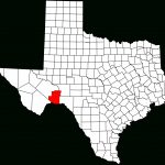 Fichier:map Of Texas Highlighting Terrell County.svg — Wikipédia   Terrell Texas Map