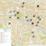 Fichier:paris Printable Tourist Attractions Map — Wikipédia   Printable Map Of Paris
