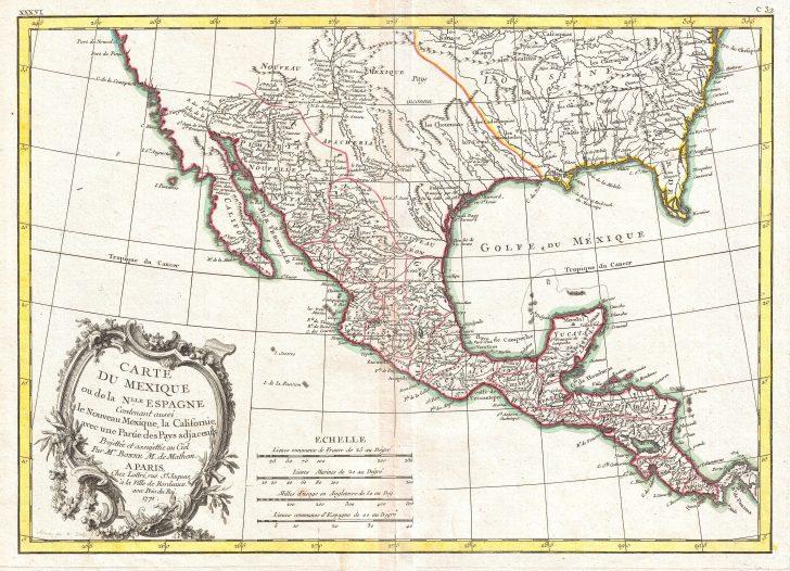 Mexico Florida Map