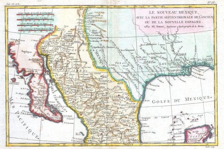 Map Of New Mexico And Texas