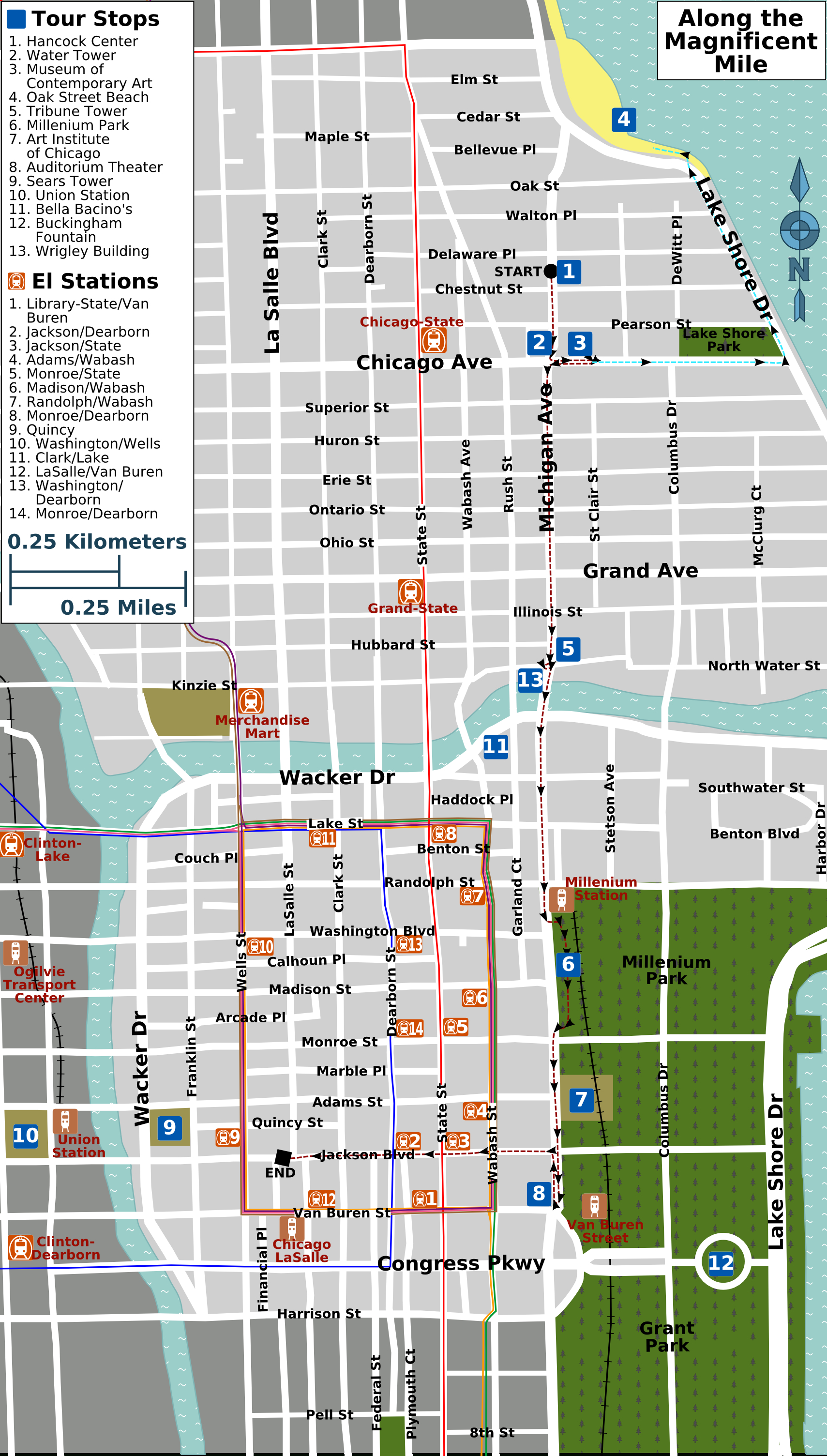 File:along The Magnificent Mile Map - Wikimedia Commons - Magnificent Mile Map Printable