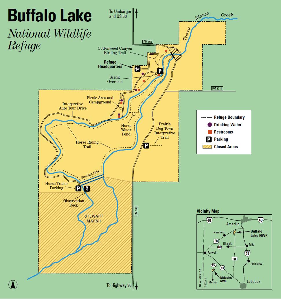 File:buffalo Lake Nwr Map - Wikimedia Commons - Texas Wildlife Refuge Map