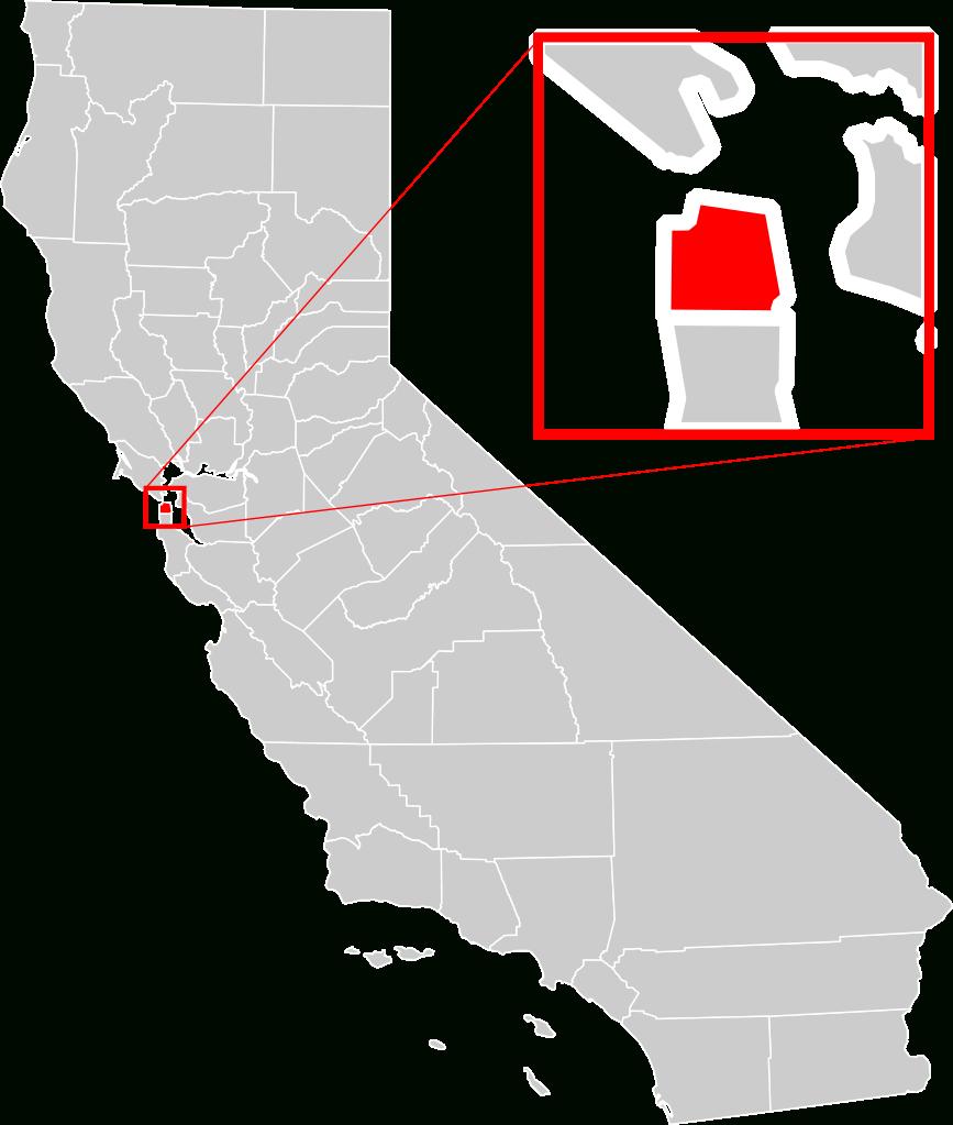 File:california County Map (San Francisco County Enlarged).svg - San Francisco California Map
