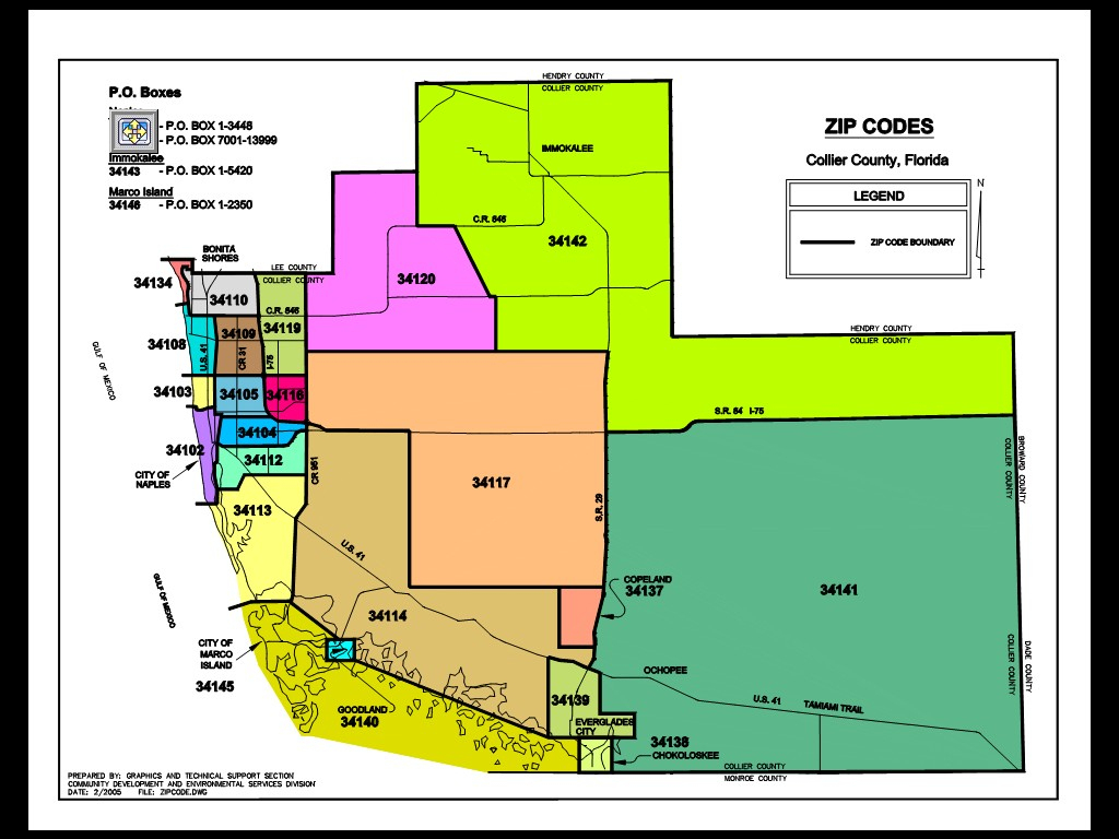File:collier-County-Fl-Zipcodes - Wikimedia Commons - Collier County Florida Map